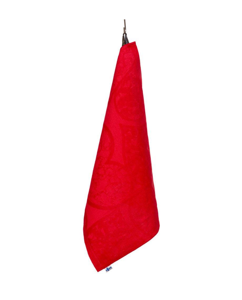 SuomenSydan-pyyhe-punainen