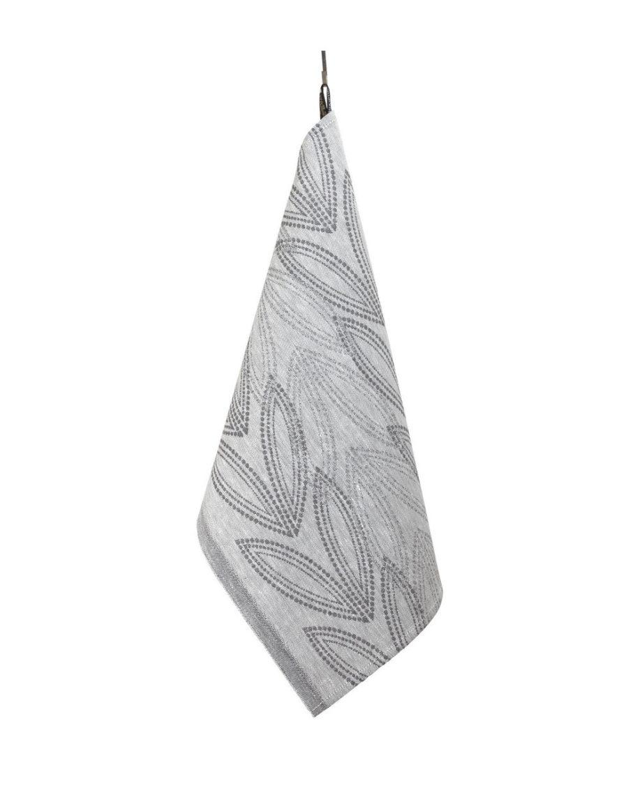 Vilja-pyyhe-tummanharmaa